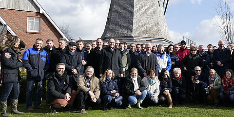group photo WESSLING Strategy Meeting 2018